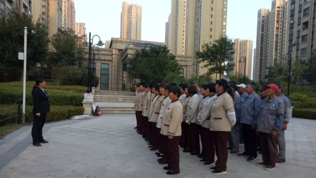 安全责任重于泰山,齐峰物业全面部署筑牢安全防线!